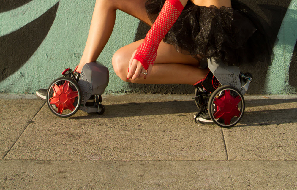 RocketSkate-First Motorized Skates For Easy Travelling price availability